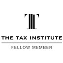 The Tax Institute fellow member Newtown logo 128x128